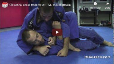 Old school choke from mount
