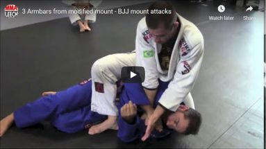 3 Armbars from modified mount