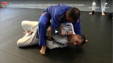 Mount escapes combination