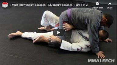 2 Must know mount escapes