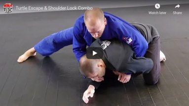 Turtle Escape & Shoulder Lock Combo