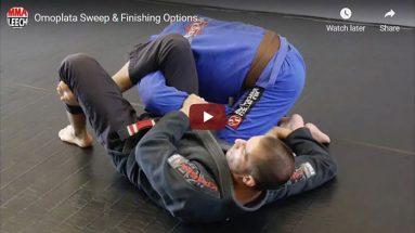 Omoplata Sweep & Finishing Options