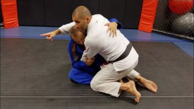 Passing the Butterfly Guard with the Knee Slice pass