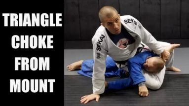 How to set up the Triangle Choke from Mount/Gift Wrap