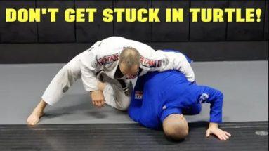 Rolling Escape From Turtle Position: BJJ Turtle Escape