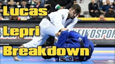 De La Riva To X-Guard Sweep - Lucas Lepri BJJ Breakdown