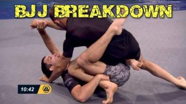 Single Leg X-Guard Into Omoplata Sweep - BJJ Breakdown