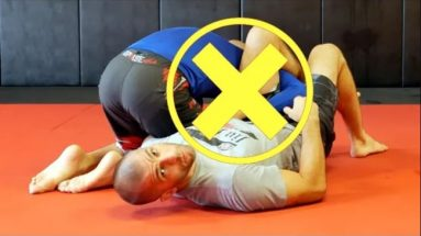 Common Mistake When Setting Up The Omoplata - BJJ No-Gi