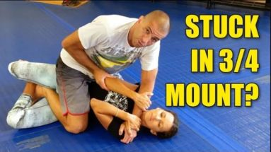 6 Options from 3/4 Mount: to Side Control, Back Take, and Full Mount