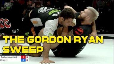 The Gordon Ryan Sweep - Ude Gatame Butterfly Sweep