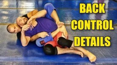 Back Control Details - Underhook Vs. Overhook Side