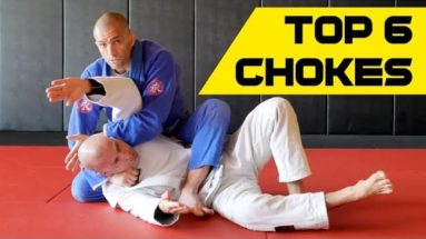 6 BJJ Chokes You Must Know From Technical Mount