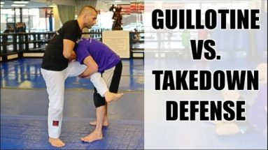 Guillotine VS Takedown
