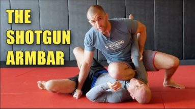 The Shotgun Armbar From Knee On Belly