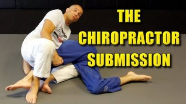 BJJ Leglock Submission From Side Control