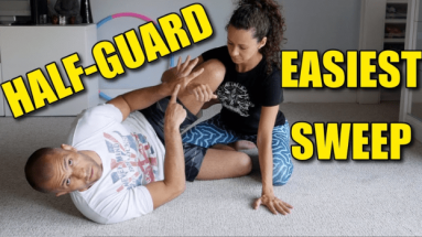 The Easiest Half-Guard Sweep In BJJ & Multiple Options