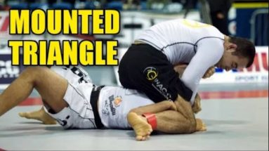 Marcelo Garcia triangle from mount