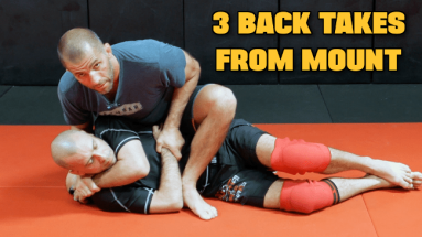 3 BACK TAKES FROM MOUNT