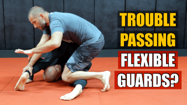 stack pass against flexible guard players