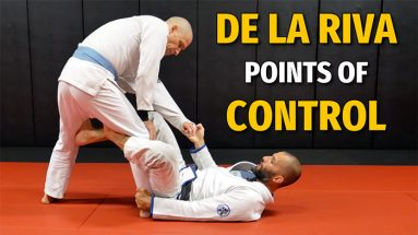 How To Set Up The Points Of Control Of Your De La Riva Guard