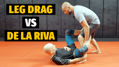 Leg Drag Pass Vs De La Riva Guard No Gi Version