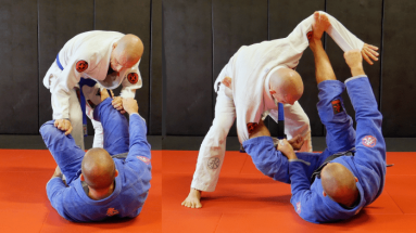 Open Guard Drill To Improve Your Transitions Between Guards