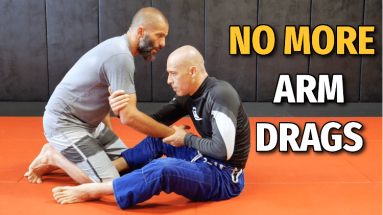 4 Arm Drag Counters Against Seated Guard (No Gi BJJ)