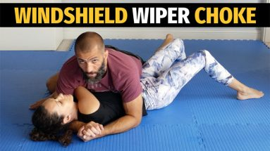 The Windshield Wiper Choke From Side Control (No Gi BJJ)