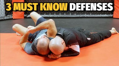 3 Arm Triangle Choke Defenses - From Prevention To Late Defense