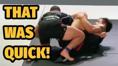 Mica Galvao's Lightning Fast Armbar - BJJ Match Breakdown