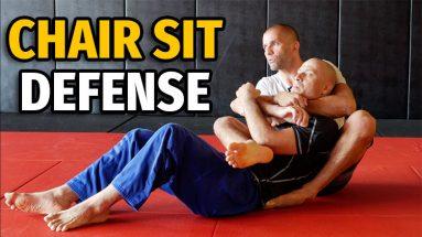 Defending The Chair Sit Back Take (BJJ No Gi)